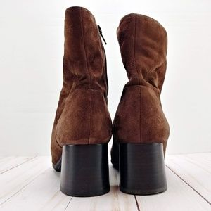 Nine West Shoes - Nine West | 'Watch Me' Dark Brown Suede Booties
